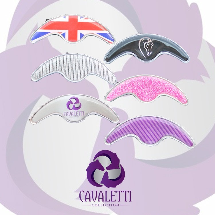 Cavaletti Collection Cantle Badge