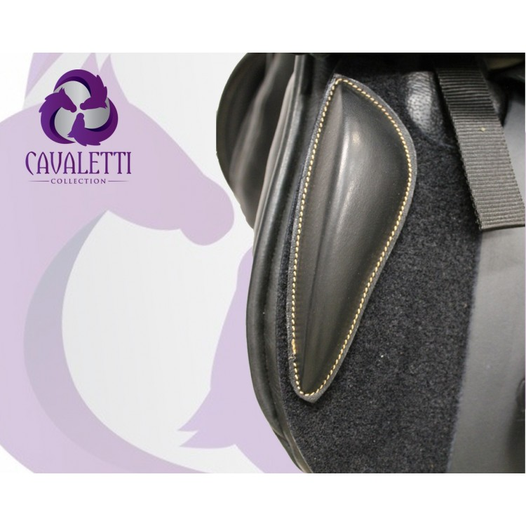 Cavaletti Collection Velcro Jump Knee Block Brown