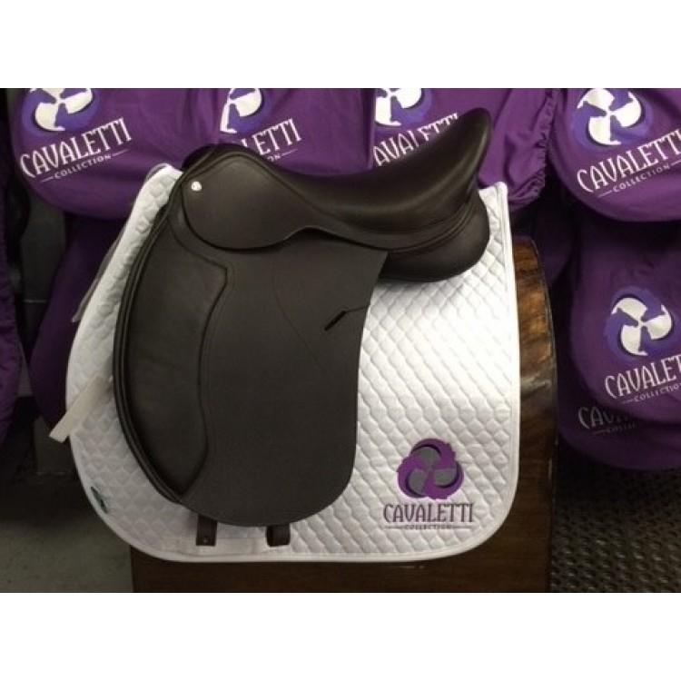 Cavaletti Dressage Saddle Ex DEMO 17.5 Brown