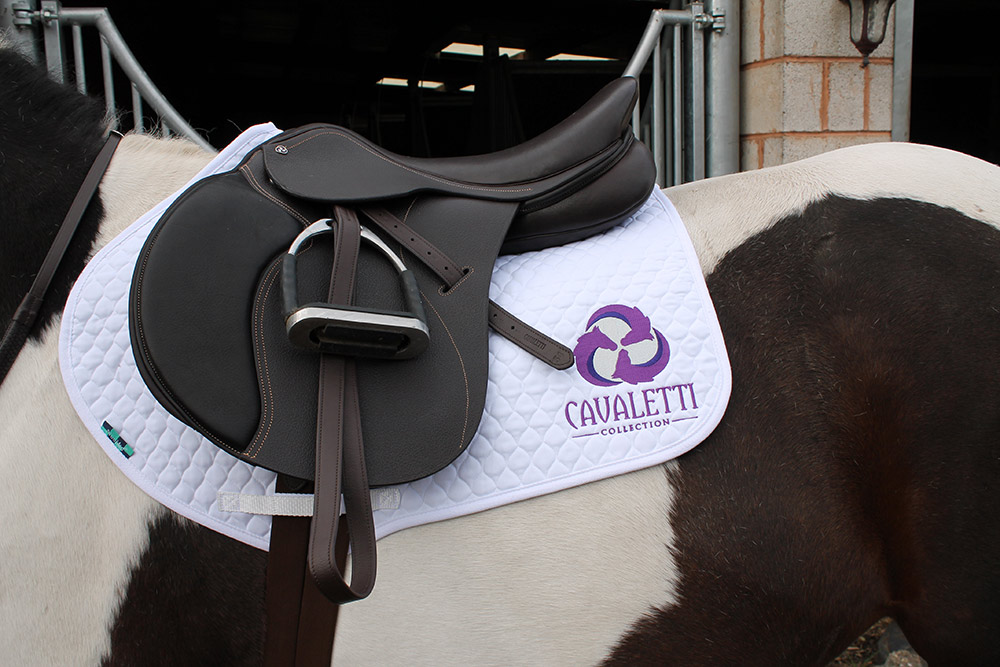 Cavaletti Collection Jump saddle brown